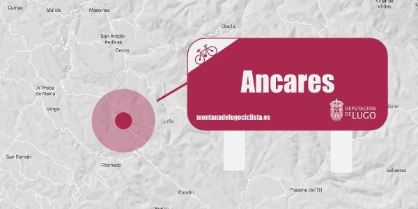 Localización señalética Ancares.