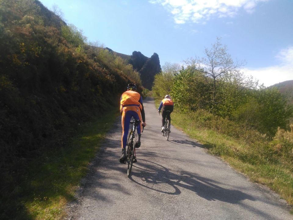 Ruta bicicleta Encadenado Sierra Morela Pandozarco (Lugo)